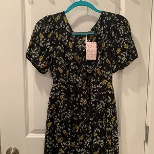 Free People Floral Sundress